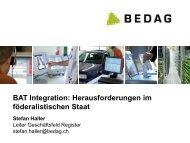 Agenda - Berner Architekten Treffen