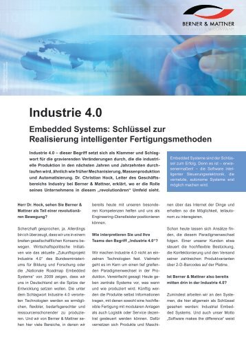 Interview (pdf) - Berner & Mattner