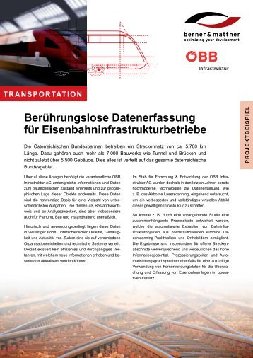 Flyer Projektbeispiel als pdf - Berner & Mattner