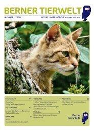 Ausgabe 1/2011 - Berner Tierschutz