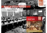 Best of Swiss Gastro Book