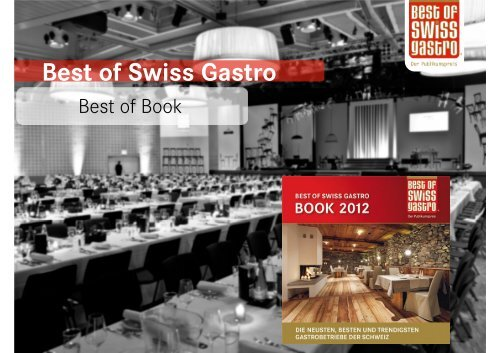 Best of Swiss Gastro Book