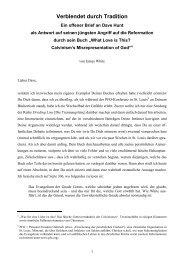 Verblendet durch Tradition. Ein offener Brief an ... - Betanien Verlag