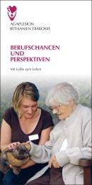 """""""Berufschancen und Perspektiven"""" (PDF) - AGAPLESION ..."""
