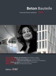 Betonbauteile Jahrbuch 2013 - BFT International