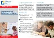 Berufsplanung und Stellensuche mit System - Bfz-Essen GmbH