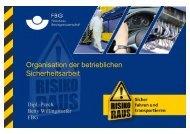 Organisation der betrieblichen Sicherheitsarbeit - Fleischerei ...
