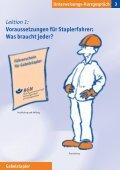 Gabelstapler - Fleischerei-Berufsgenossenschaft - Seite 2