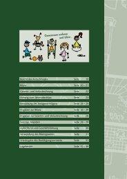 Bericht des Aufsichtsrates Seite 19 Bilanz Seite 20 - BGW ...
