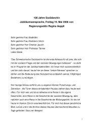 100 Jahre Sozialarchiv_definitiv - Kanton Zürich