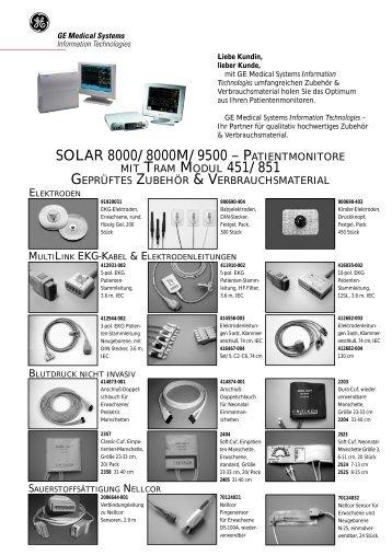 SOLAR 8000 – geprüftes Zubehör & Verbrauchsmaterial