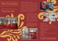 Unser Schmuckstück - Die Turmsuite - Hotel Bielefelder Hof
