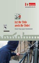 Ist Ihr Velo noch Ihr Velo? - Bieler Tagblatt