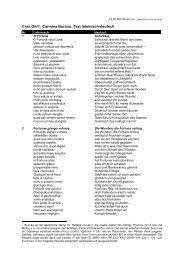 Carmina Burana. Text lateinisch-deutsch - Bieler Tagblatt