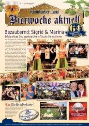 Bezaubernd: Sigrid & Marina - Bierfestzeitung