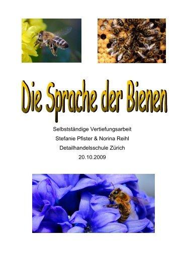 Selbstständige Vertiefungsarbeit Stefanie Pfister ... - Bienenlehrpfad