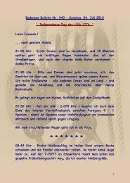 Page 1 1 Bodensee Bulletin Nr. 040 - Sonntag, 04. Juli 2010 ...