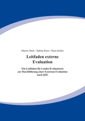 3 - Leitfaden ext Evaluation.indd - Die Senatorin für Bildung und ...