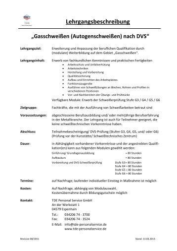 Gasschweißen-Löten-Brennschneiden - Bildungsmarkt-Sachsen.de