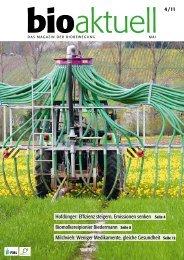 bioaktuell 4/11 - vollständige Version - Bioaktuell.ch