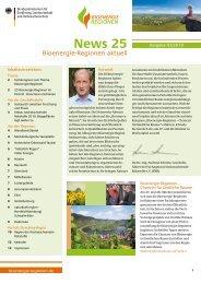 News 25 - Bioenergie-Regionen
