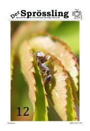 Sprössling Nr. 12 - SoSe 2010 - Fachschaft Biologie - Universität ...