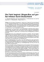 13-06-04_PM_Start Biogas-Tour_v2.pdf - Fachverband Biogas e.V.