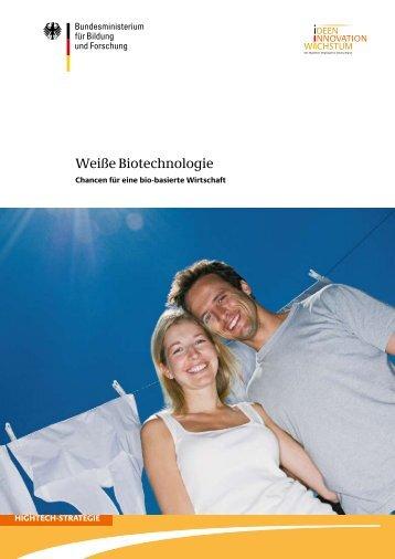Weiße Biotechnologie im Überblick - Biotechnologie.de