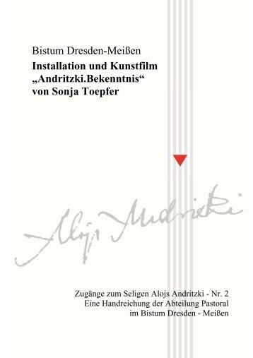 Handreichung Andritzki 2 - Installation - Bistum Dresden-Meißen