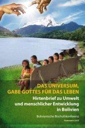 Das Universum, Gabe Gottes für das Leben - Bistum Hildesheim