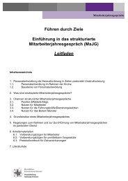Leitfaden MaJG - Bistum Münster - Personal