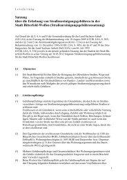 Straßenreinigungsgebührensatzung - Stadt Bitterfeld-Wolfen