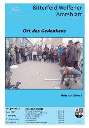 Amtsblatt 08-13 erschienen am 19.04.13.pdf - Stadt Bitterfeld-Wolfen