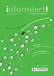 Ausgabe 1 + 2 / 2006 - DIE BERGISCHE KRANKENKASSE