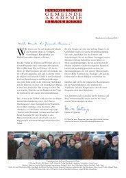 Das Programm von Januar bis Juni 2013 - in Blankenese