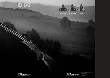 D 99 Trio D 99 Duo D 99 - Blaser Jagdwaffen
