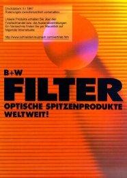 B+W Filterhandbuch - blende7