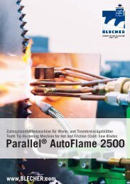 Parallel® AutoFlame 2500 - BLECHER