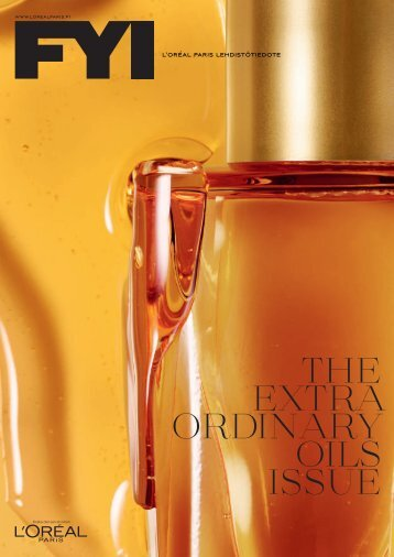 THE EXTRA ORDINARY OILS ISSUE - Cision