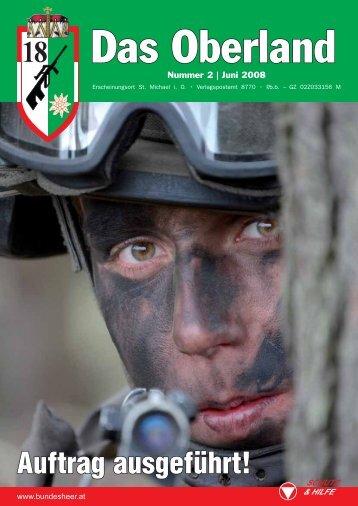 Auftrag ausgeführt! - Österreichs Bundesheer