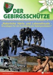 """""""Natürliche Härte und Lebensfreude - - Österreichs Bundesheer"""