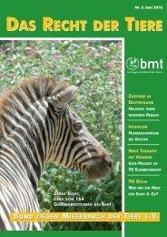 RdT 1/2010 - Bund gegen Missbrauch der Tiere