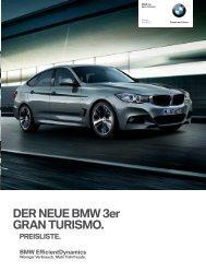 3_GT_pricelist.pdf - BMW Deutschland