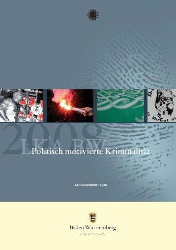 Politisch motivierte Kriminalität - BOA - Baden-Württembergisches ...