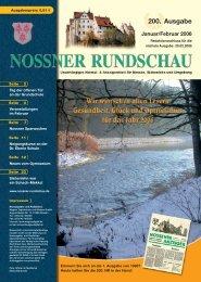 Januar/Februar 2006 - Nossner Rundschau