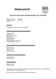 Niederschriften öffentlich 2005 - Gemeinde Böhl-Iggelheim