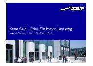 Präsentation - Börse Frankfurt