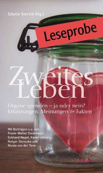 "Leseprobe ""Zweites Leben"""