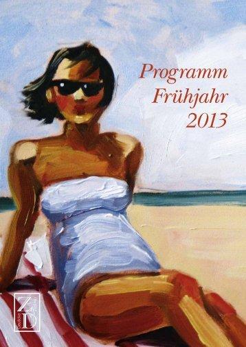 Programm Frühjahr 2013 - boersenblatt.net