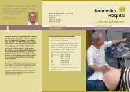 Flyer Gynäkologie & Geburtshilfe - Borromäus-Hospital gGmbH
